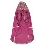 View Image 5 of Pet Life ACTIVE 'Pull-Rover' Performance Sleeveless Dog Hoodie - Maroon