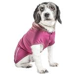 View Image 2 of Pet Life ACTIVE 'Pull-Rover' Performance Sleeveless Dog Hoodie - Maroon