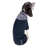 View Image 3 of Pet Life ACTIVE 'Pull-Rover' Performance Sleeveless Dog Hoodie - Dark Teal