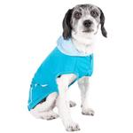 View Image 3 of Pet Life ACTIVE 'Pull-Rover' Performance Sleeveless Dog Hoodie - Electric Blue