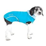 View Image 1 of Pet Life ACTIVE 'Pull-Rover' Performance Sleeveless Dog Hoodie - Electric Blue