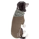 View Image 2 of Pet Life ACTIVE 'Pull-Rover' Performance Sleeveless Dog Hoodie - Olive Green