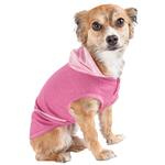 View Image 2 of Pet Life ACTIVE 'Pull-Rover' Performance Sleeveless Dog Hoodie - Pink