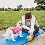 View Image 10 of Pet Life ACTIVE 'Pull-Rover' Performance Sleeveless Dog Hoodie - Pink