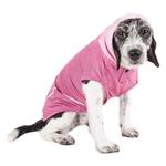View Image 4 of Pet Life ACTIVE 'Pull-Rover' Performance Sleeveless Dog Hoodie - Pink