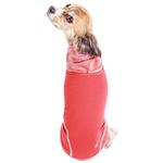 View Image 4 of Pet Life ACTIVE 'Pull-Rover' Performance Sleeveless Dog Hoodie - Coral Red