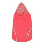 View Image 5 of Pet Life ACTIVE 'Pull-Rover' Performance Sleeveless Dog Hoodie - Coral Red