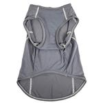 View Image 3 of Pet Life ACTIVE 'Racerbark' Performance Dog Tank - Grey