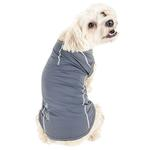 View Image 6 of Pet Life ACTIVE 'Racerbark' Performance Dog Tank - Grey