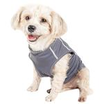 View Image 5 of Pet Life ACTIVE 'Racerbark' Performance Dog Tank - Grey