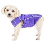 View Image 1 of Pet Life ACTIVE 'Racerbark' Performance Dog Tank - Lavender