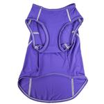 View Image 5 of Pet Life ACTIVE 'Racerbark' Performance Dog Tank - Lavender