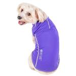 View Image 2 of Pet Life ACTIVE 'Racerbark' Performance Dog Tank - Lavender