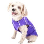 View Image 3 of Pet Life ACTIVE 'Racerbark' Performance Dog Tank - Lavender