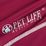 View Image 7 of Pet Life ACTIVE 'Racerbark' Performance Dog Tank - Maroon