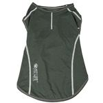 View Image 4 of Pet Life ACTIVE 'Racerbark' Performance Dog Tank - Olive Green