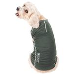 View Image 2 of Pet Life ACTIVE 'Racerbark' Performance Dog Tank - Olive Green