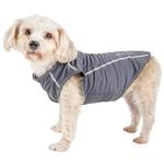 View Image 1 of Pet Life ACTIVE 'Racerbark' Performance Dog Tank - Grey