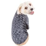 View Image 3 of Pet Life ACTIVE 'Warf Speed' Performance Dog T-Shirt - Black Heather