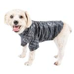 View Image 1 of Pet Life ACTIVE 'Warf Speed' Performance Dog T-Shirt - Black Heather