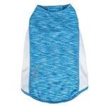 View Image 5 of Pet Life ACTIVE 'Warf Speed' Performance Dog T-Shirt - Blue Heather