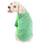 View Image 2 of Pet Life ACTIVE 'Warf Speed' Performance Dog T-Shirt - Green Heather
