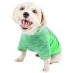 View Image 3 of Pet Life ACTIVE 'Warf Speed' Performance Dog T-Shirt - Green Heather