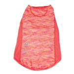 View Image 4 of Pet Life ACTIVE 'Warf Speed' Performance Dog T-Shirt - Coral Heather