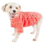 View Image 1 of Pet Life ACTIVE 'Warf Speed' Performance Dog T-Shirt - Coral Heather