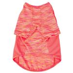 View Image 5 of Pet Life ACTIVE 'Warf Speed' Performance Dog T-Shirt - Coral Heather