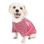View Image 3 of Pet Life ACTIVE 'Warf Speed' Performance Dog T-Shirt - Pink Heather