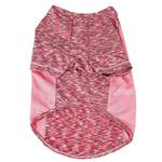 View Image 5 of Pet Life ACTIVE 'Warf Speed' Performance Dog T-Shirt - Pink Heather