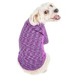 View Image 2 of Pet Life ACTIVE 'Warf Speed' Performance Dog T-Shirt - Purple Heather