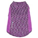 View Image 4 of Pet Life ACTIVE 'Warf Speed' Performance Dog T-Shirt - Purple Heather