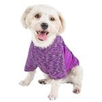 View Image 3 of Pet Life ACTIVE 'Warf Speed' Performance Dog T-Shirt - Purple Heather