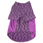 View Image 5 of Pet Life ACTIVE 'Warf Speed' Performance Dog T-Shirt - Purple Heather