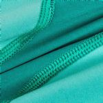 View Image 7 of Pet Life ACTIVE 'Warm-Pup' Performance Jumpsuit - Green and Aqua