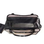 View Image 8 of Pet Life 'Exquisite' Airline-Approved Designer Travel Dog Carrier - Houndstooth Multi