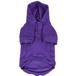 View Image 4 of Pet Life LED Lighting Halloween Snowman Dog Hoodie - Purple