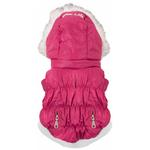 View Image 5 of Pet Life Metallic Ski Parka Dog Coat - Pink