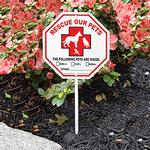 View Image 1 of Pet Rescue Garden Sign