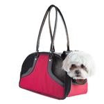 View Image 1 of Petote Roxy Dog Carrier Handbag - Red