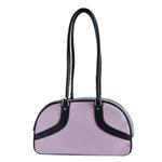 View Image 3 of Petote Roxy Dog Carrier Handbag - Pink & Black
