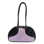View Image 2 of Petote Roxy Dog Carrier Handbag - Pink & Black