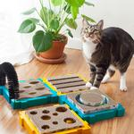 View Image 2 of Petstages Puzzle Cat Play Station - Ball Chaser