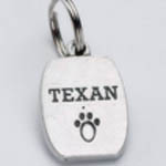 View Image 1 of Pewter Dog Collar Charm or Cat Collar Charm: Texan