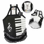 View Image 1 of Piano Dress with Ruffles by Klippo