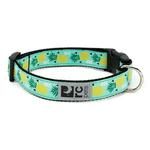 View Image 1 of Pineapple Parade Adjustable Clip Dog Collar