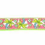 View Image 3 of Pink Palms Dog Leash by Up Country