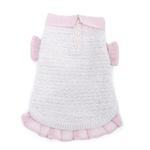 View Image 1 of Pink and Proper Dog Sweater by Oscar Newman - Pink